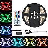 COSANSYS LED Strip RGB LED Streifen Set 5M SMD 5050