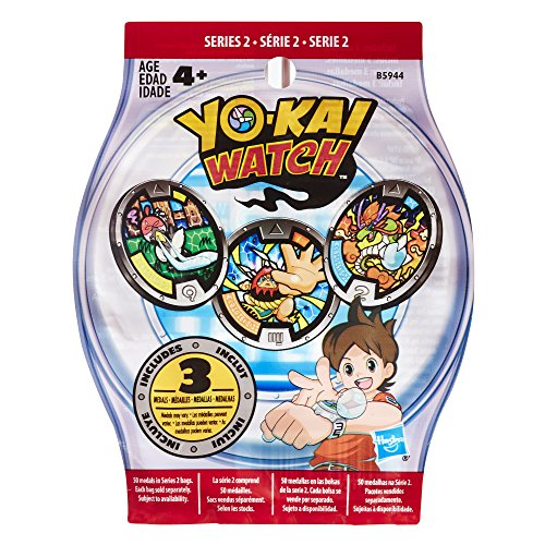Yokai Season 1 - Medals Blind Bag By Yokai (3 Per Pack) - 1 Sachet De 3 medailles Yo-Kai