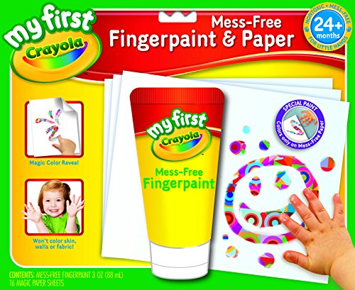 My First Crayola Mess-Free Fingerpaint & Paper- (Crayola Fingerpaint)