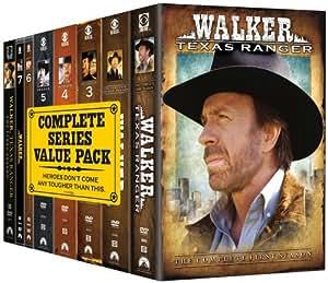 Walker Texas Ranger: Complete Series Pack [Import USA Zone 1]