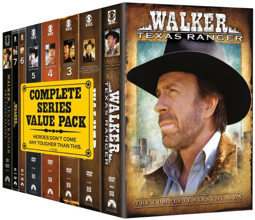 Walker Texas Ranger: Complete Series Pack [DVD] [Import] (Ranger Texas Walker)