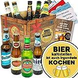 Bier kalt stellen ist auch irgendwie. | Biersorten aus aller Welt | Bier Set
