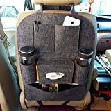 #2: Stvin Car Auto Vehicle Back Seat Multi Pocket Travel Storage small Organizer for Bottle, Books, Magazine, Etc (Color As per Available)