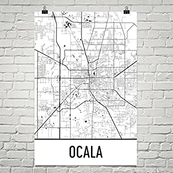 Lakeland Florida Map.Modern Map Art Lakeland Map Lakeland Art Lakeland Print Lakeland