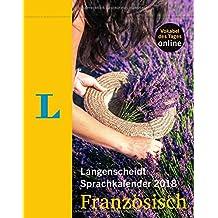 Langenscheidt Sprachkalender 2018 Französisch - Abreißkalender