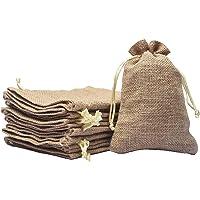 SHUBH LABH Royal Drawstring bags Jute Linen Gift Bags Potli Bags Burlap bags Return Gifts Bags Diwali Gifting Bags (7…