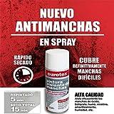 Pintura en spray aislante antimanchas blanco mate Ideal para tapar manchas de óxido, bolígrafo, humo, amarillamiento, nicotina, humedad etc. - 400 ml