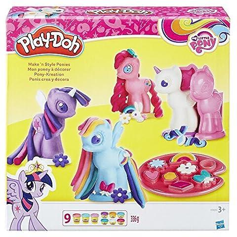 Hasbro Play-Doh B0009EU6 - My Little Pony Pony-Kreation, Knete