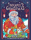 Merry Christmas Coloring Book for Adults: Fun, Easy, and Relaxing Coloring Pages