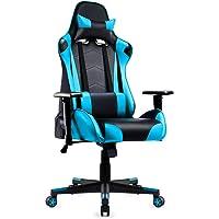 IntimaTe WM Heart Gaming Stuhl, Racing Stuhl mit Kopfstütze und Lordosenstütze, Ergonomischer Computerstuhl, Bürostuhl…