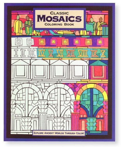Mind Ware Classic Mosaics Coloring Book