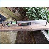 Magnetische Wasserwaage Libelle Digitaler Winkelmesser 400 mm verlängerter Größe (40,64 cm Zoll) Version Upright Neigungsmesser. Meter Winkelmesser