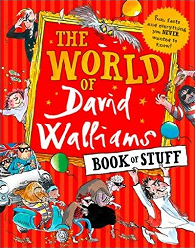 The World Of David Walliams Book Of Stuff por Vv.Aa