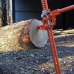 Forest Master Baumstamm-Heber 3000 kg FM3-LP Stamm-Heber Baum-Drücker Baum-Stütze Fällhilfe Stämme anheben Bäume fällen