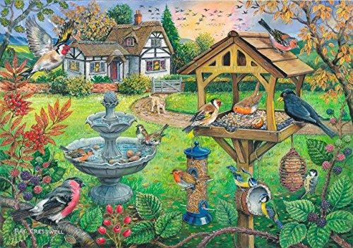 Puzzle 500 Teile - XXL Teile - Bird Table