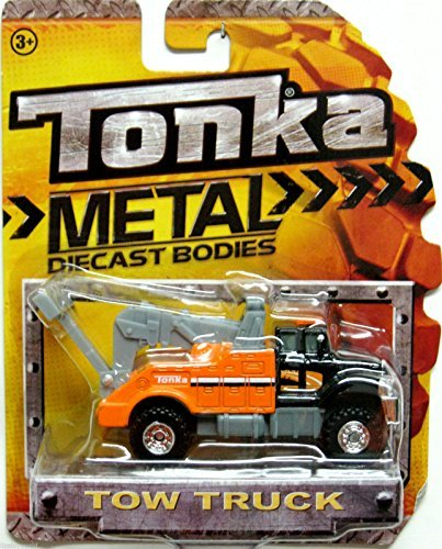 Tonka Metal Diecast Tow Truck Scale 1:55 - Truck Tow Diecast