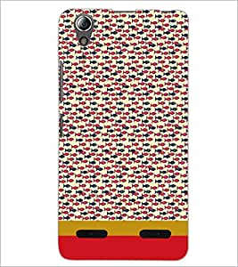 PrintDhaba Fish Pattern D-1869 Back Case Cover for LENOVO A6000 PLUS (Multi-Coloured)