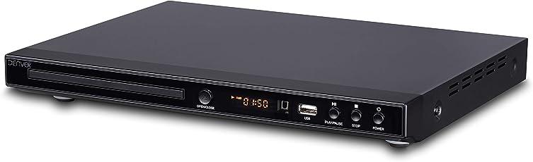 Denver Dvh-1244 Multi Region Dvd Player & Upscaling Dvd Player 1080P With Hdmi, Usb & 5.1 Surround Sound Audio