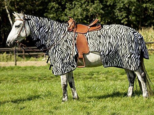 BUSSE Ausreitdecke MONTANA ZEBRA II Rückenlänge 155 cm, zebra