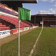Football Ground Accessories Soccer Plastic Corner Flag Post - Height 6Ft