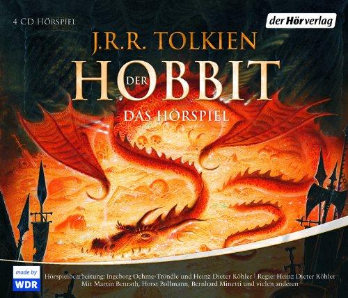 Buchseite und Rezensionen zu 'Der Hobbit, 4 Audio-CDs' von J.R.R. Tolkien