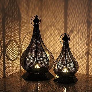 albena shop 73-117 Hudi oriental lantern metal Set of 2: size S + L