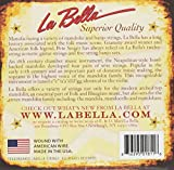 La Bella Mandoline en acier uni?WND en acier argenté?clair