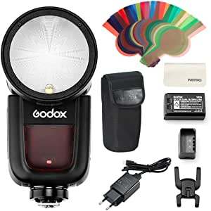 Godox V1s Runder Kopf Kamera Blizt Hss Auf Kamerablitz Kamera