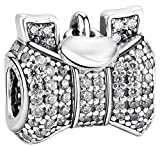 SaySure - 925 Sterling Silver Charms Hearts Bow - Best Reviews Guide