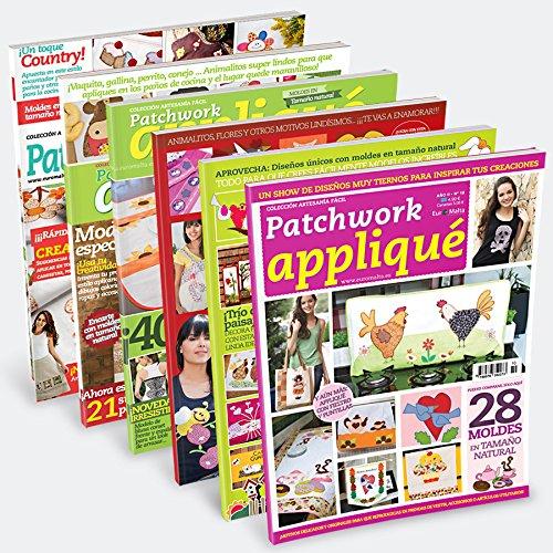 Pack Angebot 6Zeitschriften Patchwork Applique