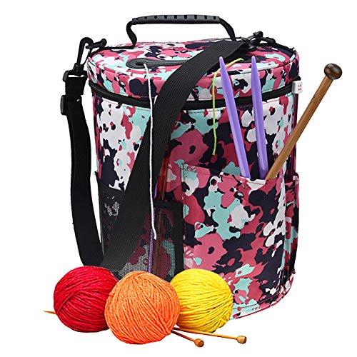 Gaeruite - Organizador bolsas lana tejer, bolsa almacenamiento