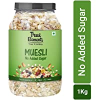 True Elements No Added Sugar Muesli Jar,  1 kg