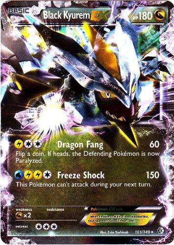 Pokémon Trading Card-Kyurem Noir EX (Bw7limites Crossed # 101/149)