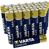 Varta 4103301124 Longlife Batteria Alcalina, Ministilo AAA LR03, Confezione da 24 Pile Big Box Confezione risparmio - il…