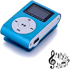 Captcha® Mini Digital Mp3 Music Player with TF/SD Card Support & USB Cable Slot