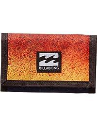 Billabong Atom Wallet Monedero, Hombre, Naranja (Multicolor), 10 x 2 x 12 cm (W x H x L)