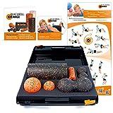 Blackroll Orange (Das Original) DIE Selbstmassagerolle - SMR-Set STANDARD inkl. Koffer, Übungs-DVD, -Poster und -Booklet