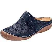 Stylish Women's Comfort Orthotic Slippers Sandals, Summer Ladies Fashion Sandal Closed Toe Platform Slippers Shoes…