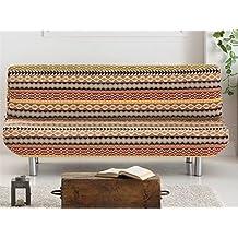 LaNovenaNube - Funda sofa cama KILIM clic clac color Naranja
