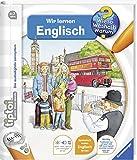 Ravensburger tiptoi  Buch Wieso? Weshalb? Warum? - Wir Lernen Englisch + Kinder Weltkarte - Länder, Flaggen, Kontinente