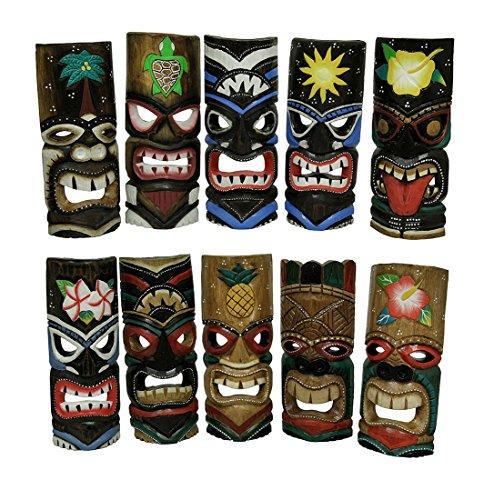 set-von-10-polynesische-tiki-style-wandbild-masken-279-cm