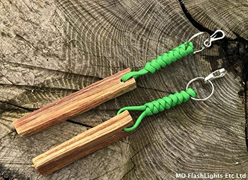 Hearty 5 X Fatwood Keyrings Camping & Hiking Other Camping & Hiking