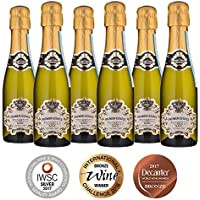Premier Estates | Best Prosecco 20cl Miniature Sparkling White Wine D.O.C Millesimato from Italy | Case of 6 x 20cl Bottles