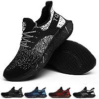 TQGOLD Scarpe da Ginnastica Corsa Uomo Donna Scarpe Sportive Running Leggere Traspirante Outdoor Sneakers