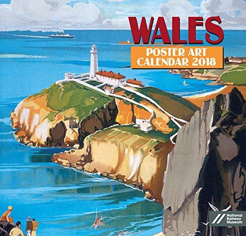 Wales Poster Art Kalender 2018–Academy Serie