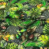 Stoffe Werning Baumwolljersey Dschungellook Digitaldruck