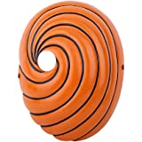 Generic Uchiha Obito - Maschera per cosplay, colore: Arancione