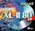 10 Maxell CD-RW Rohlinge XL-II Music Digital Audio