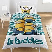 Minions Le Buddies–07Juego de funda de edredón 100% algodón