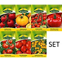 7 Variétés | Assortiment de Graines de Tomate